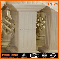 PFM Chinese outdoor theme park sculpture nude girl white marble statue for park&home project design