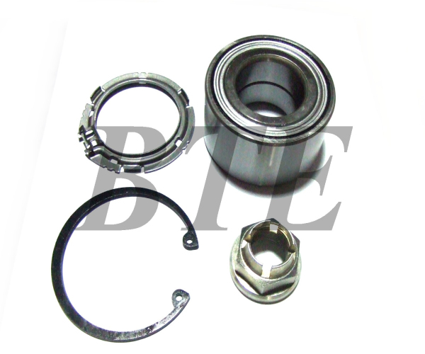 car spare parts mercedes front axle wheel bearing kits 77 01 207 677 for renault dacia