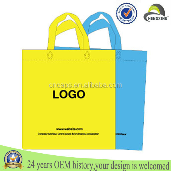 Best selling supermarket reusable personalize cheap customized folded non woven shopping bag
