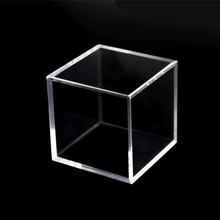 Hot sale custom plexiglass glass clear acrylic cube