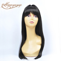2016 new design factory price 100% brazilian human hair unprocessed virgin straight cheap lace front wig with baby hair