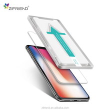 2018 new inventions asahi 2.5d premium tempered glass screen protector for iphone X