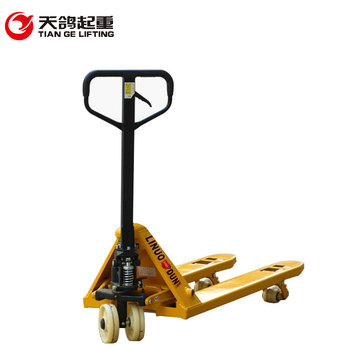 China Factory Produced 2 Ton or 3 Ton Hydraulic Hand Pallet Truck With Competitive Price