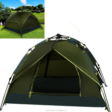 3-4 Person Pop Up outdoor Buckle Waterproof Camping Tent with Carry Bag