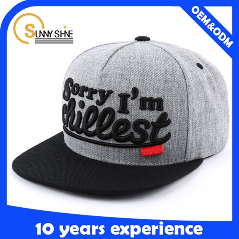 New style customize fashion character plain snapback hats cheap fedora snapback hats