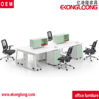 melamine office partitions/movable office partitions