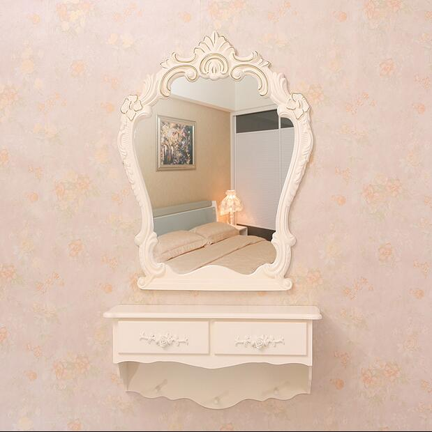 Simple dressing table designs mirrored dressing table wall mounted dressing table
