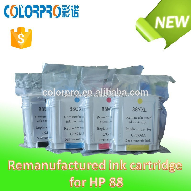 Refurbished ink cartridge 88 for hp L7380/L7480/L7580/L7590/L7680/L7780