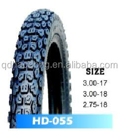 Hot sell motorcycle tire 2.75-18 with various of patterns that buy tires direct from factory