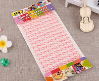 Pearl Sticker,DIY Crystal Sticker,Wholesale Adhesive Rhinestone Sheets Sticker
