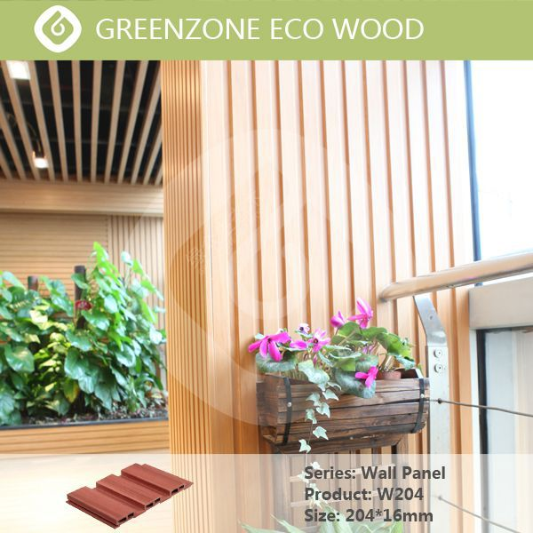 Greenzone natural style engineered wood siding wpc cladding