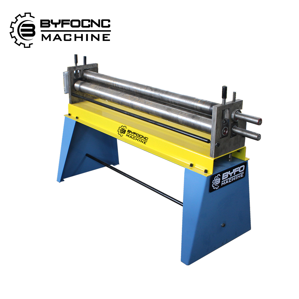 Fast delivery steel plate bend roller , electic rolling machine , electric slip roll