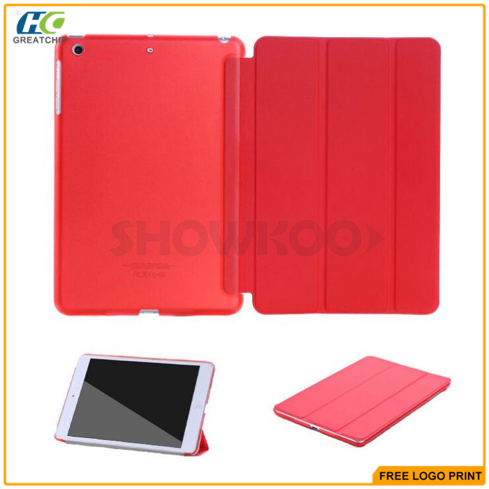 Hottest Selling Fashion Office 3 Folding Smart Tablet Cover For Ipad Mini 4