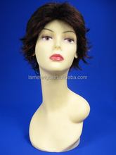 F6243 cheap synthetic cosplay wig,natural hair wig for men