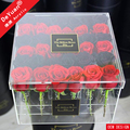 Flower Box With Drawers / Preserved Flower Packing Box