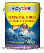 Acid stain resistant Acrylic exterior wall finishes Home paint