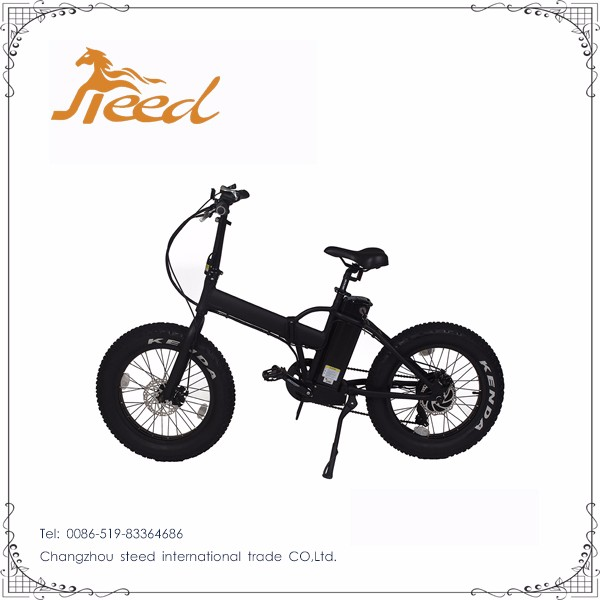 500w 26'' folding pegasus bicycle electric bike with fat tire