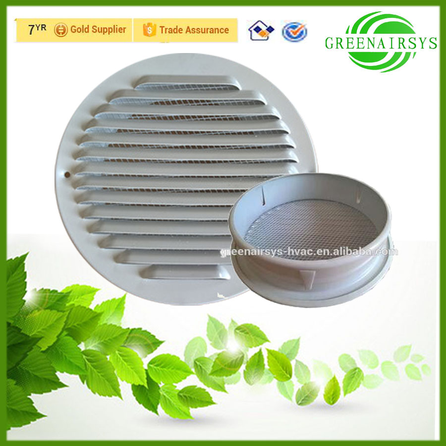 Circular Aluminium Washroom Air Filter Vents