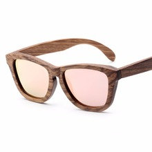 3AM10029 italian design fashion wooden sunglasses <strong>bamboo</strong>