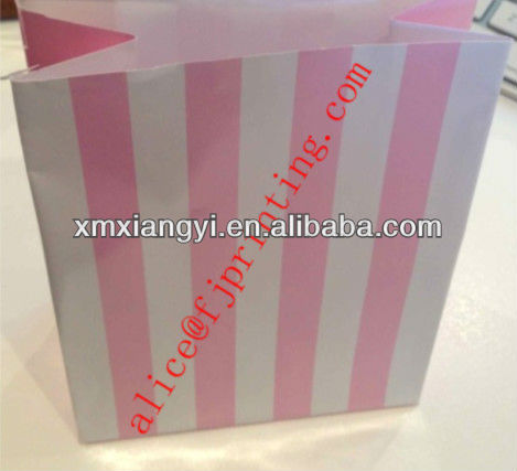 Sweets/Chocolate/lollipop/Candy Gift Stripe Paper Bags