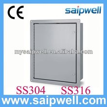 Stainless Steel outdoor cabinet with pedestal