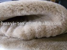 cut strip fake fur