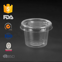 1oz pp disposable plastic portion cup,disposable measuring cup