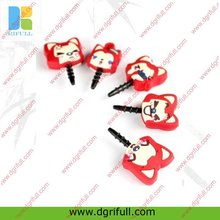 cute earphone ear cap for iphone