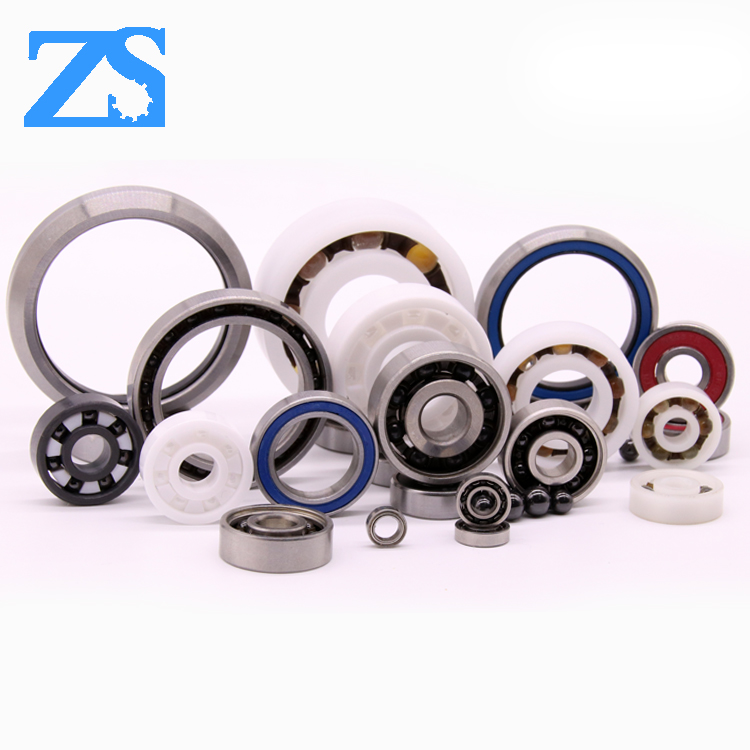 High speed low noise metal steel skateboard bearing 608