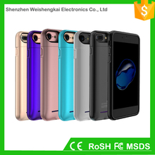 Custom polymer battery 3000 mah mobile phone battery case for iPhone6 6s 7