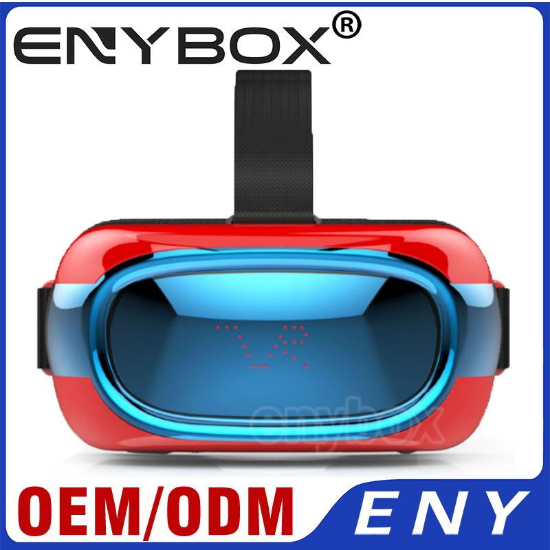 2016 Innovative Product Latest Blue Film Video With 3D Glasses Support Panorama Experience EVR01