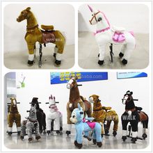 Hot selling ride on horse toy pony/riding horse toy/mechanical ride on horse
