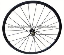 High quality 700c road bicyle for clincher or tubular carbon wheelset carbon single speed wheelset