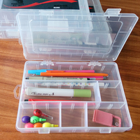 plastic storage case beautiful pencil case which used best pp material