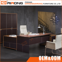 European style top grade modern office furniture luxury executive boss director office table design