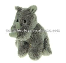 plush stuffed toy rhino