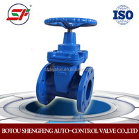 high quality DIN F4 resilient seated gate valve