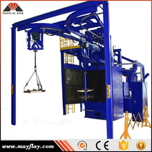 Mayflay Hook Type Abrasive Wheel Blaster / Shot Blasting Machine