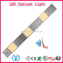 Alibaba Express New product Ultra Thin DC12V 6W LED Under Cabinet Light With IR Sensor Switch