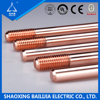 Chemical Earthing Copper Clad Steel Earth Rod /Bar