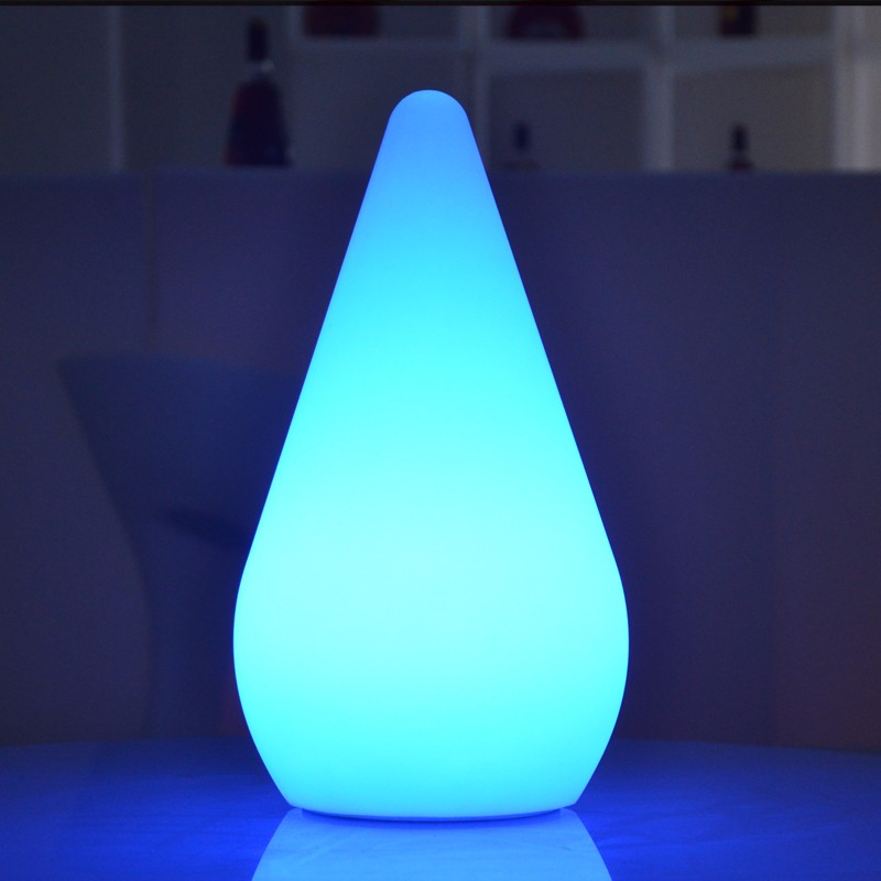 A Cordless Battery Powered Led Table Lamp For Hotel