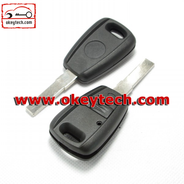 High Quatity Fiat Transponder chip key shell black Car Key fiat universa key shell