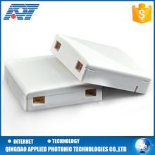 Top manufacture wall mounted network connection joint closure box 86 faceplate fiber optic plc splitter FTTH box