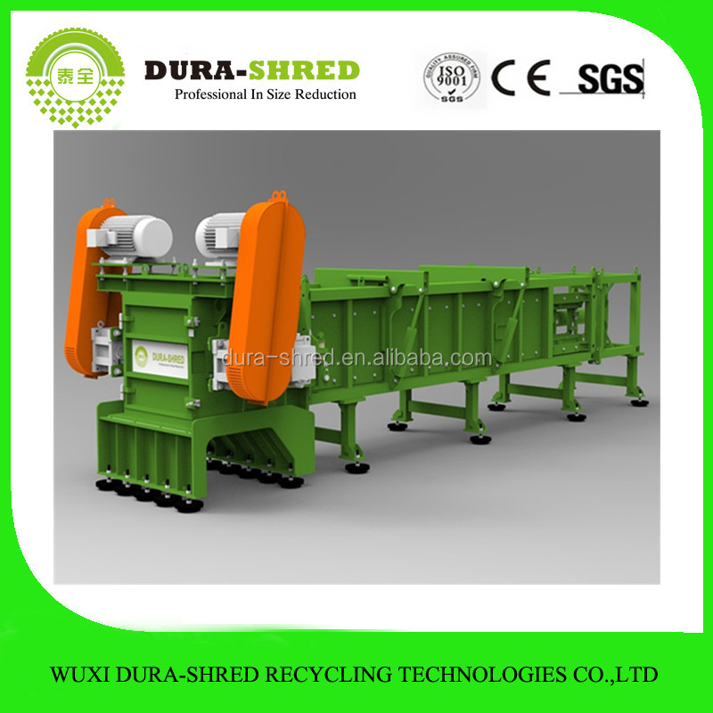 Plastic recyclable wood chip crusher for sale