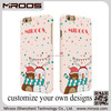 Miroos mobile phone accessory delicate custom colourful water transfer paint mobile phone cover for iphone 6
