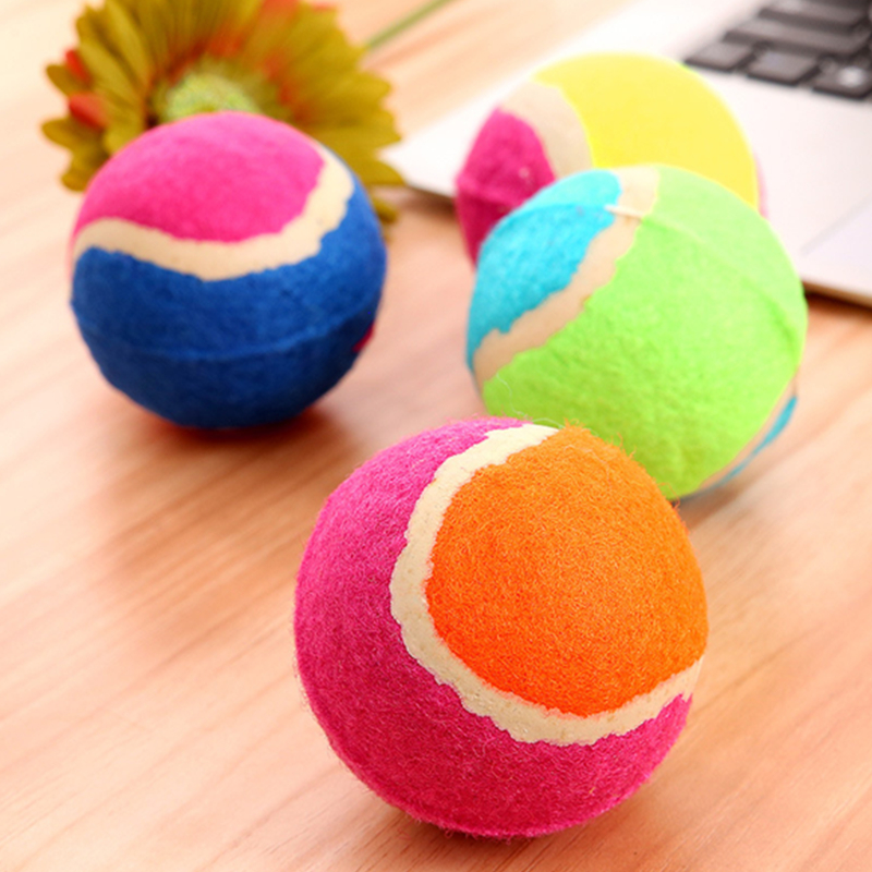Hot Selling Pet Products Rubber Tennis Ball Pet Toy For Dog