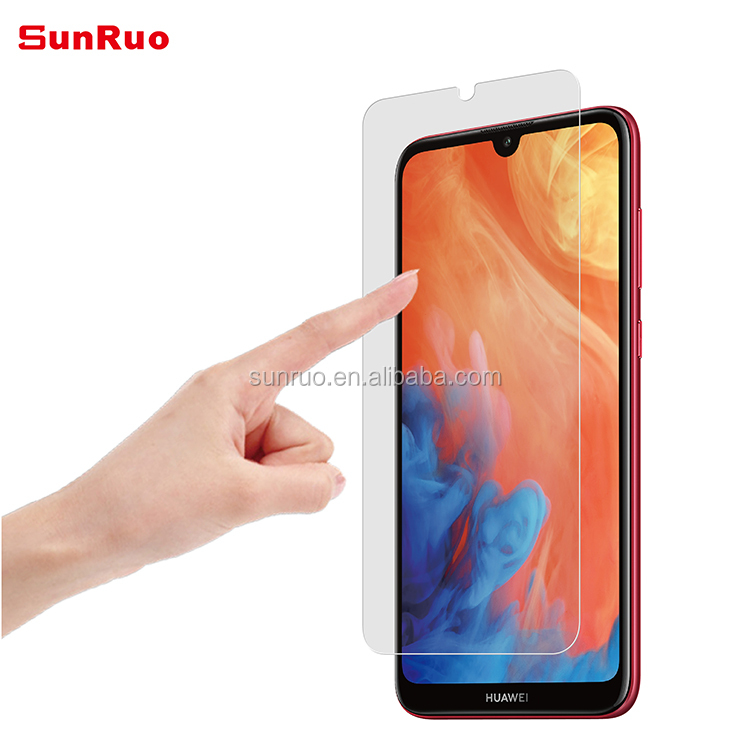 Ultra Clear Perfect Fit 9H Hardness 0.33mm Tempered Glass Screen Protector for Huawei Y7 2019