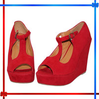 Faux Suede Platforms Pumps High Heels Sandals women's day gift Shoes