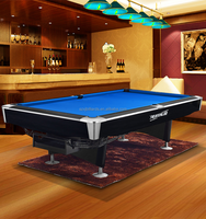 Indoor and Outdoor Bumper Pool Table Size of 9ft/8ft