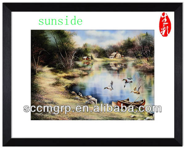 Best Quality Newest Art Oil Painting Picture Display In China